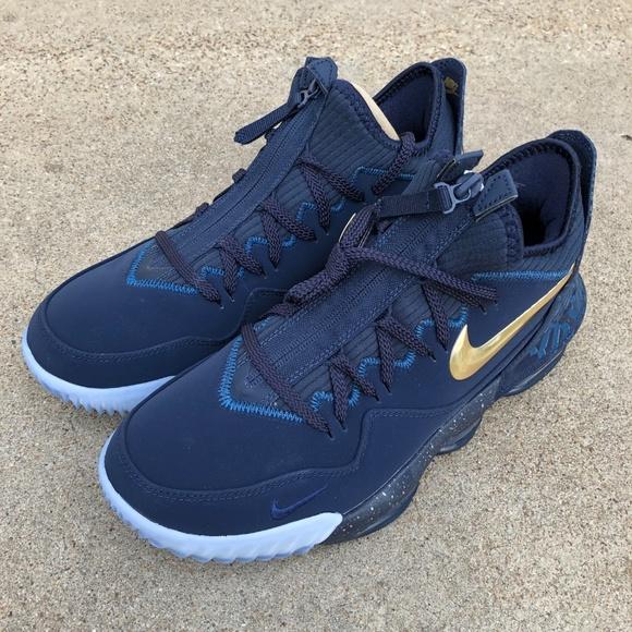 Titan's Nike LeBron 16 Low 'Agimat' sz 10